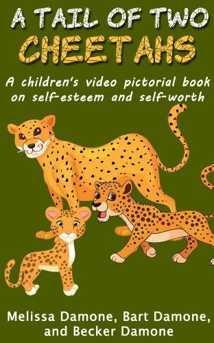 Children's Book Self Esteem - A Tail of Two Cheetahs (Children's Interactive Books - Cheetah Inch 8
