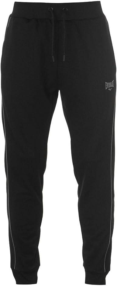 Everlast - Pantalones de chándal para Hombre Negro Negro (27-32 ...