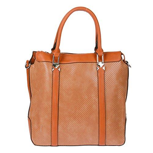 Xuna - Shoulder Bag For Women Black Persimmon
