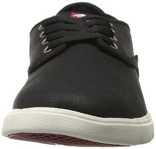 EmericaWino Cruiser Lt - Sneaker Uomo Black/White/Burgundy