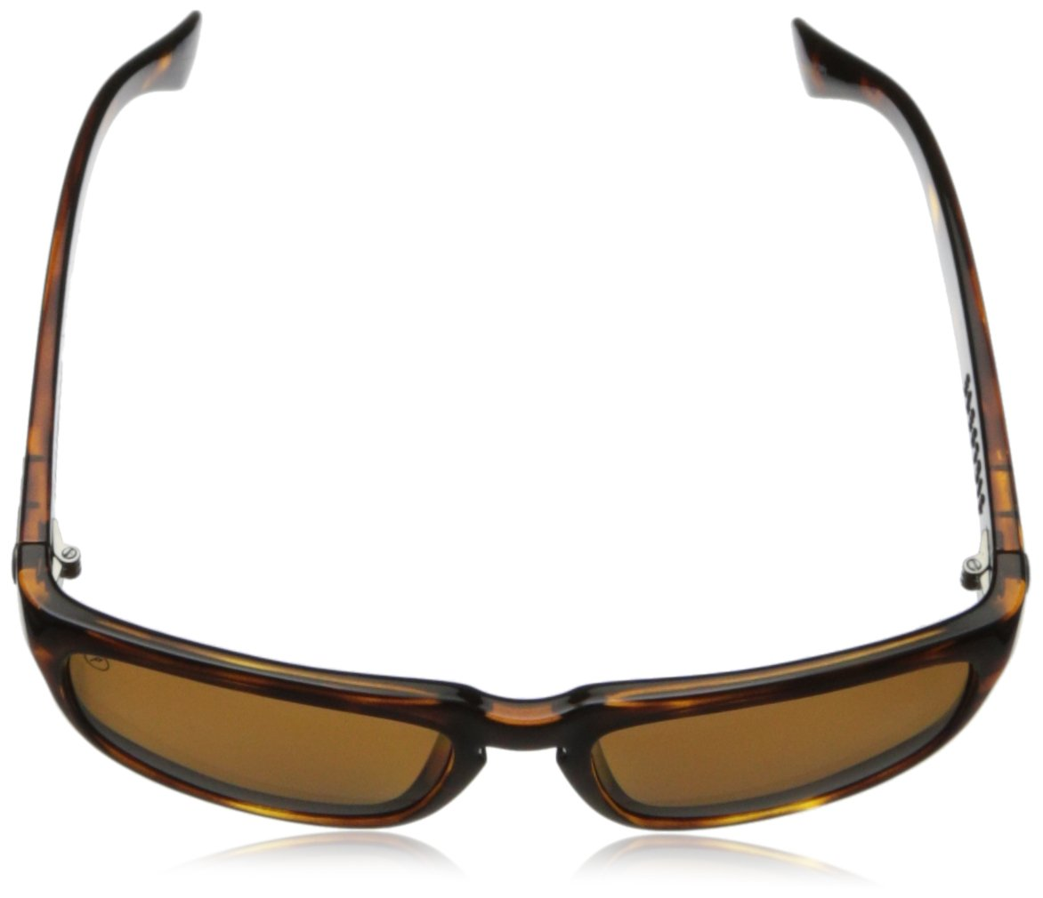 Electric Visual Knoxville Gloss Tortoise/Polarized Bronze Sunglasses by Electric (Image #5)