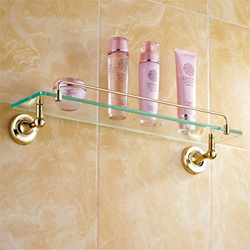 LAONA All copper antique European style gold bathroom fittings, toilet paper rack, towel rack,Rack 1 by LINA bathroom accessories (Image #2)