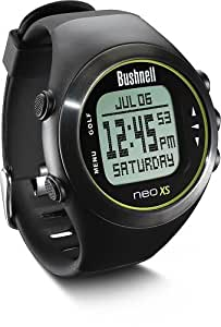 Bushnell Neo XS Golf GPS Rangefinder Watch, Black