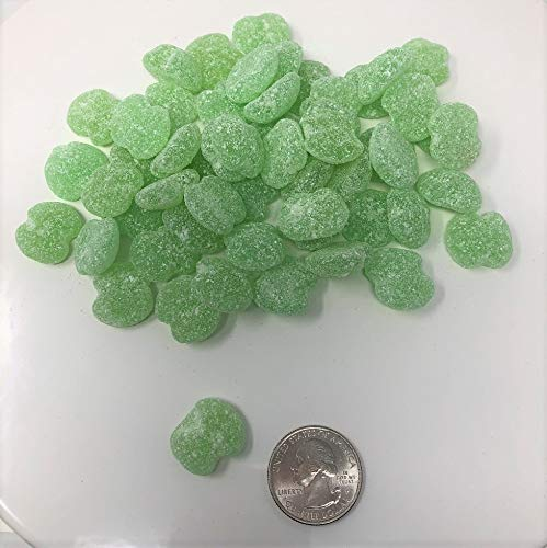 Sour Green Apple - Sour Patch Apples gummi sour green apple gummy bulk candy 4 pounds