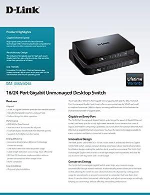 D-Link 24-Port Gigabit Switch (DGS-1024A)