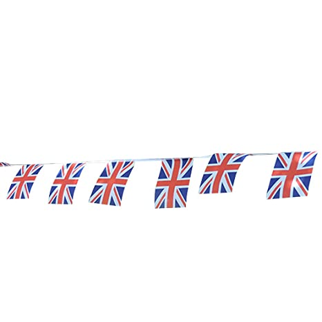Amazon.com: funpa bandera nacional guirnalda de banderines ...
