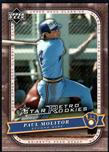 Baseball MLB 2005 Upper Deck Classics #123 Paul Molitor Brewers