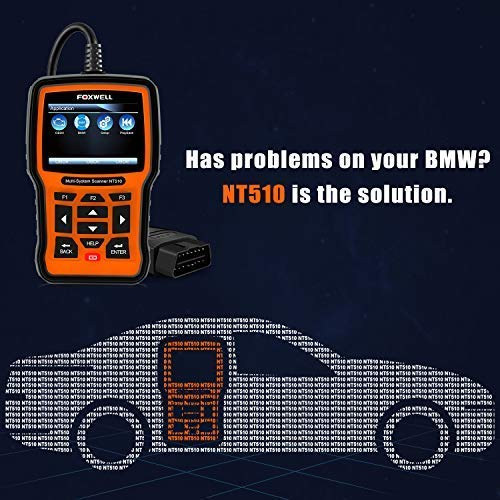 Foxwell NT510: BMW Comprehensive OBD2 Diagnostic Tool Review - OBD
