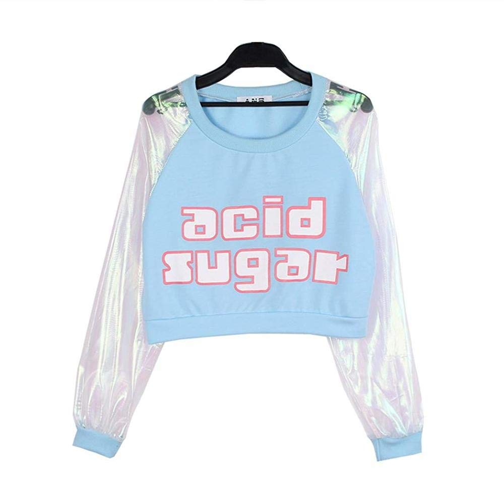 50960f3ef Namnoi Pastel Sweater Store Harajuku Swag Outerwear Jacket for Womens Coat