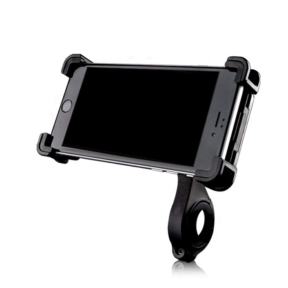 Bike Handlebar Rotatable Phone Holder, Electric Car Phone Holder for Bumpy Road Motorcycle Riding Navigation Mobile Phone Holder