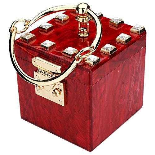 Pochette pour Pochette pour pour red UNYU UNYU femme UNYU femme Pochette femme red red q6HqxwYUd