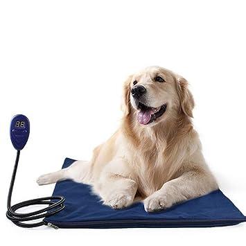 Almohadillas De Calefacción para Mascotas Calentador De Pet Calor Mat-Seguridad Interior Gato Perro Cama