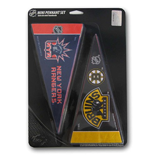 - NHL Hockey Complete 30 Team 4x9 Mini Pennant Set