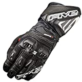 Five Gloves RFX1 Gauntlet Race Glove Black 2X-Large (More Size and Color Options)