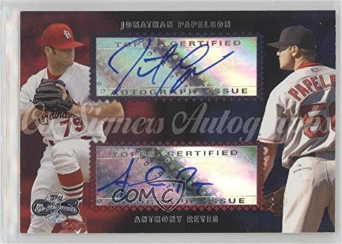 Jonathan Papelbon; Anthony Reyes (Baseball Card) 2006 Topps Co-Signers - Dual Autographs #CS-52