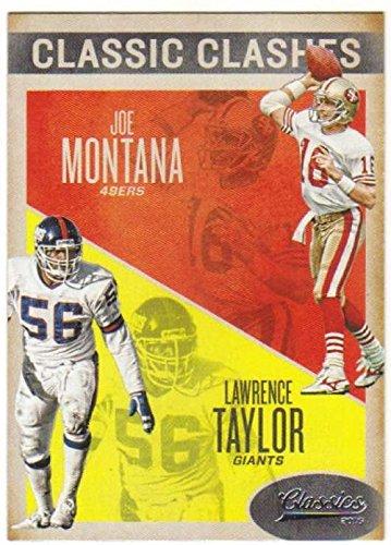 2016 Classics Classic Clashes #19 Joe Montana/Lawrence Taylor