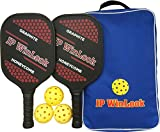 JP WinLook Pickleball Paddle Set - 2 Premium...