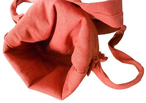 Kalra Creations, Borsa a tracolla donna arancione Orange