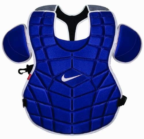Nike De3539 Chest Protector (Navy, 15-Inch) ()