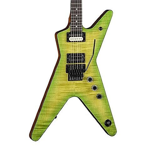 Dean DB DS Dime bag Dime Slime Guitarra eléctrica de cuerpo sólido, Ml-P, Dime Slime: Amazon.es: Instrumentos musicales