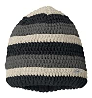 Outdoor Research Kids' Tempest Facemask Beanie, Black/Charcoal, 1Size