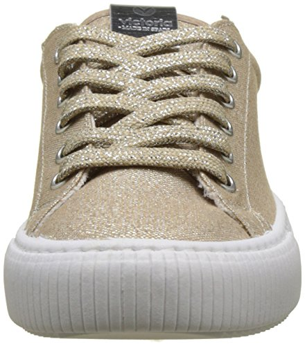 Victoria Mixte Lurex Baskets Adulte Or Platino Deportivo vwrqRv