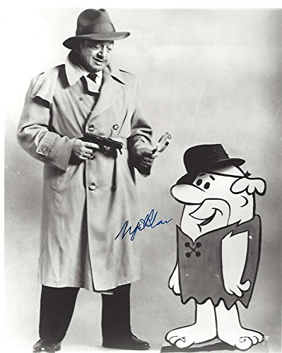 MEL BLANC - VOICE of BARNEY Also did Voices of BUGS BUNNY, DAFFY DUCK, PORKY PIG, and TWEETY BIRD (Passed Away 1989) Signed 8x10 B/W Photo