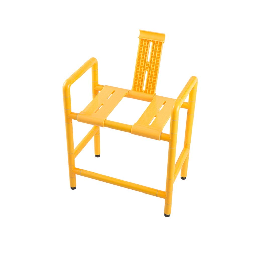 Beauty Dual Use - Stool Shower Stool/Toilet Chair Elderly Bathing Auxiliary Seat, Shower Seat Can Withstand 150KG