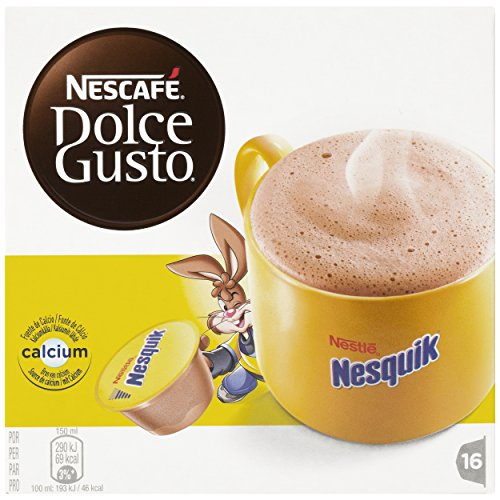 nescaf dolce gusto nesquik 16 capsules import it all. Black Bedroom Furniture Sets. Home Design Ideas
