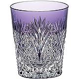 カガミクリスタル 焼酎グラス(笹っ葉に麻の葉紋) T557-2472CMP