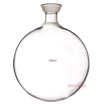 Amazon.com: Deschem - Botella esférica S35 de 3000 ml ...