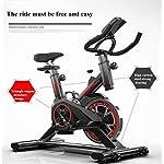 Lloow-Trasmissione-a-Cinghia-silenziosa-Bici-da-Fitness-Resistenza-al-Feltro-in-Lana-Cyclette-Magnetica-Cardio-Cardiofrequenzimentro-Spin-Bike-per-Famiglia-Palestra-etc-85x45x102cm-Exercise-Bikes