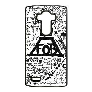 Fall Out Boy caso G4 Arte Lírico G8J16B8EE funda LG Funda LF6F4C negro