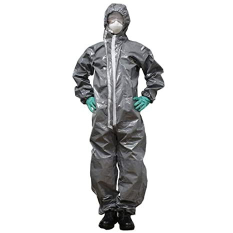 UK Chemical Protective Clothing With Hood Heavy Chemicals