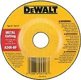 Dewalt Grinding Wheel Depressed Center, Metal Cutting 1/8 '' Thck, 7/8 '' Arbor