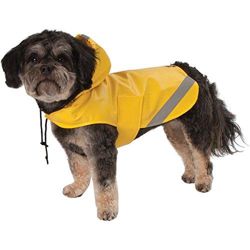 Pet Rageous London Slicker, Small, Yellow