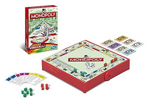 Hasbro Monopoly B1002100 - Monopoly Kompakt - Edition 2015, Spiel