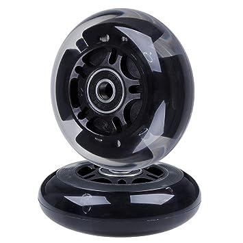 Amazon.com: AOWISH 2 unidades de ruedas traseras para ...