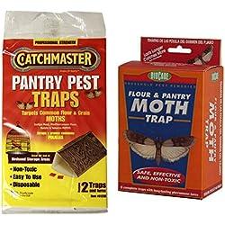 Catchmaster Pantry Pest Traps + BioCare Flour and Pantry Moth Traps - Bundle