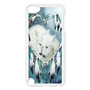 linfenglin Customized Print Wolf Dream Catcher Pattern Hard Case for iPod Touch 5