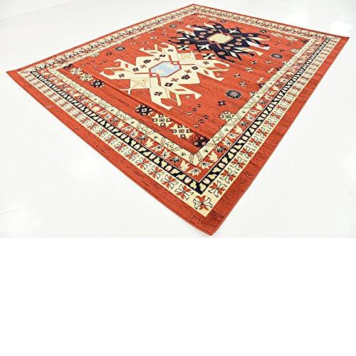 Classic Traditional Geometric Persian Design Area Rugs