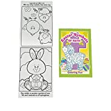 Bargain World Easter Symbols of Faith Coloring Books (With Sticky Notes)
