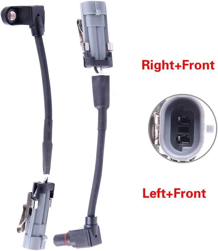 LSAILON 2 pcs Front Left Right ABS Speed Sensors Replacement for 2005 2006 Chevrolet Equinox,2006 Pontiac Torrent,2002 2003 2004 2005 2006 2007 Saturn Vue ALS1344