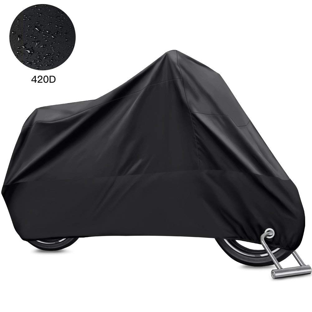 HBlife Funda Protector para Moto Cubierta de Motocicleta Impermeable Anti UV para motocicleta product image