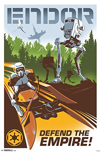 Trends International Star Wars Endor Collector's Edition Wall Poster 24