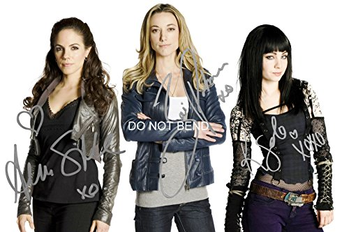 Lost Girl tv show reprint signed cast 12x18 poster/photo - Silk Solo Palmer from Loa_Autographs