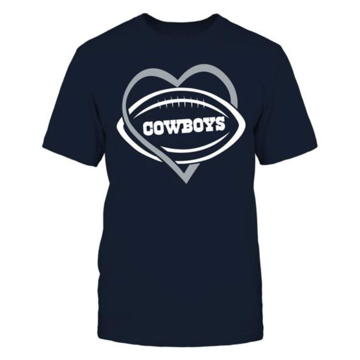 I Love Dallas City Football Shirt (L)
