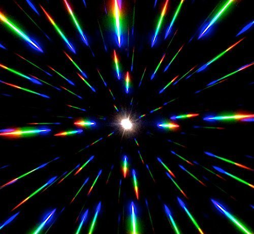 GloFX Paper Cardboard Diffraction Glasses – Geometric Rainbow – 100 Pack by GloFX (Image #5)