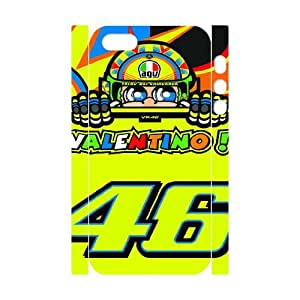 Classic Case Valentino Rossi pattern design For Apple iPhone 5,5S(3D) Phone Case