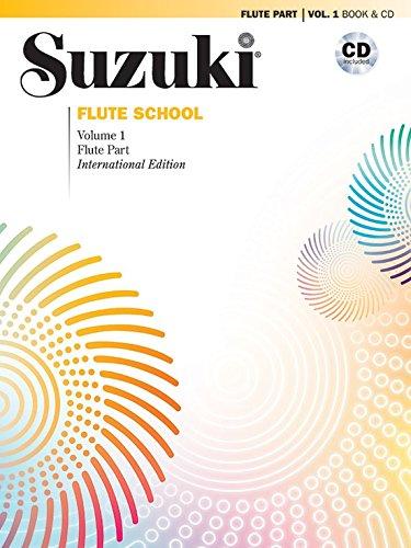 Suzuki Flute School, Vol 1: Flute Part (Book & CD)